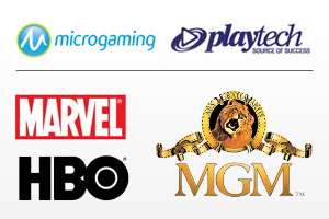gaming-entertainment logos