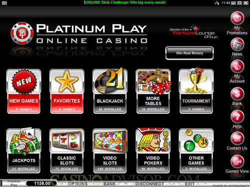 platinum play casino withdrawal